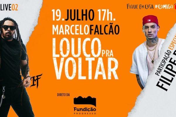 Live Marcelo Falcão e Filipe Ret