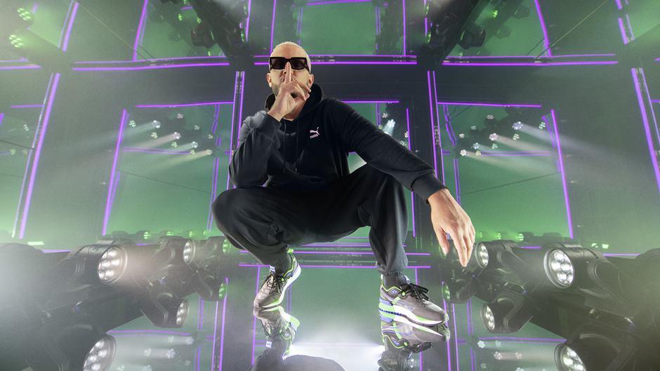DJ Snake será o embaixador global da nova franquia de tênis da PUMA, Mirage, que será lançado no Brasil a partir de Abril.