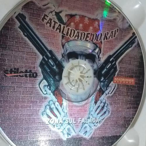 CD original Fatalidade do Rap