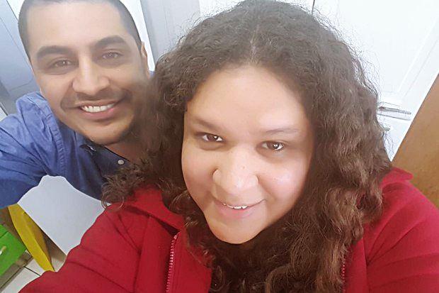 Criolo com a irmã, Cleane Gomes