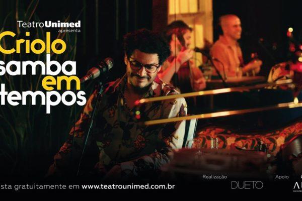 Criolo estreia seu primeiro filme-concerto, com direção de Monique Gardenberg, sexta, 30 de julho