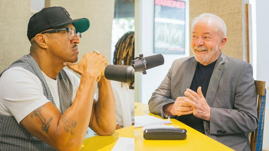 Mano Brown recebe Lula no Original Spotify