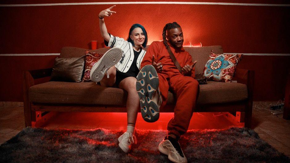 """Pelé Milflows e Belle Kaffer estrelam mais um encontro que promete virar febre. """"Hoje eu não vou"""" chega em todos os aplicativos de música e no canal do YouTube em um filme de tirar o fôlego."""