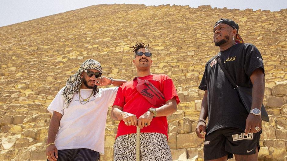 Djonga, BK' e Froid lançam primeira faixa do EP Egito