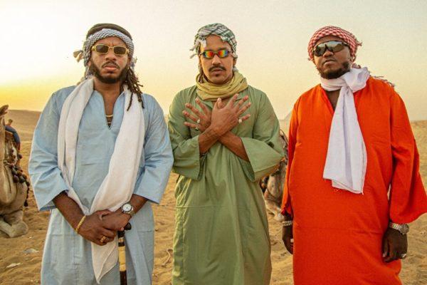 Djonga, BK' e Froid lançam o EP Egito